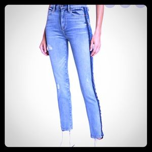 HUDSON CUSTOM HIGH BARBARA SKINNY JEANS